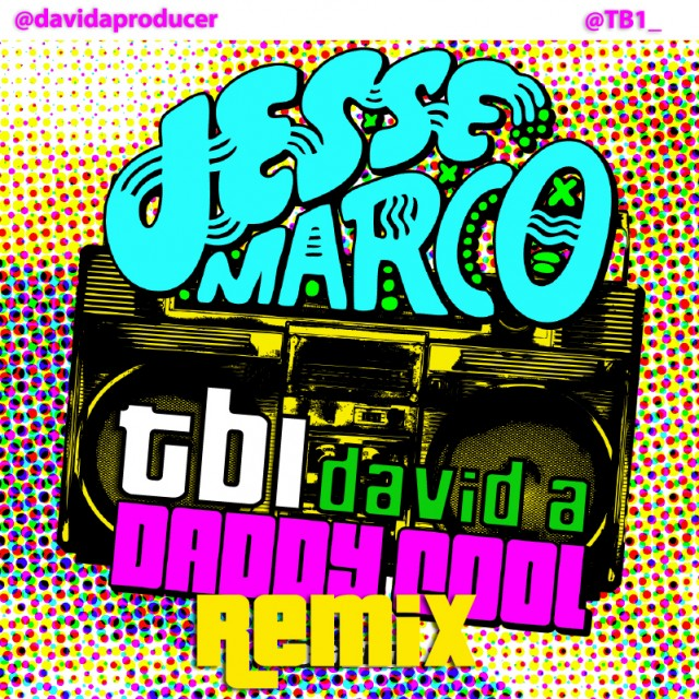 Daddy Cool (TB1 & David A Remix) - Artwork