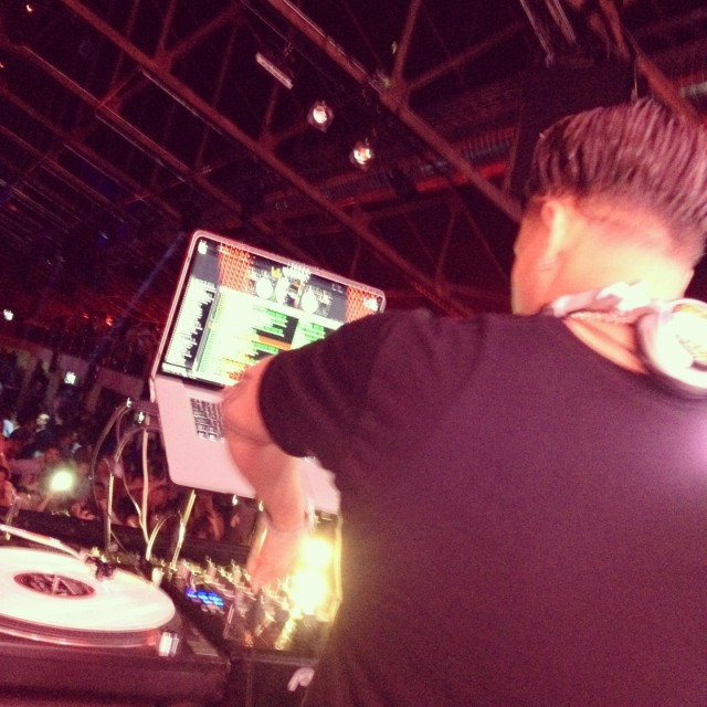 Pauly D at New City Gas Montreal